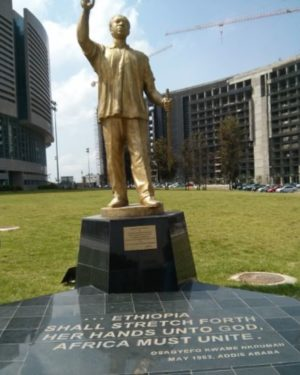 """Father of African Unity"" H.I.M. Haile Selassie Restored to Honor by the African Union 3"